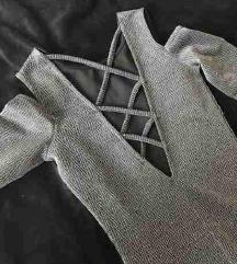 Nova open back obleka