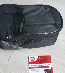 Kolesarska torbica z žepom za mobilni telefon