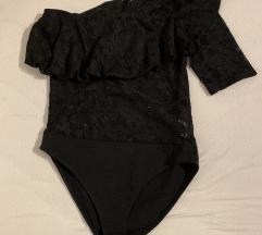 Čipkast body Zara S
