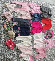 Oblačila za deklico 50-62