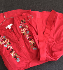 Poletna roza oblekica