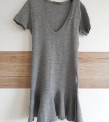 Ženska pletena obleka ali tunika, XS/S
