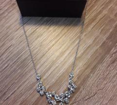 Ogrlica s Swarovskimi kristali
