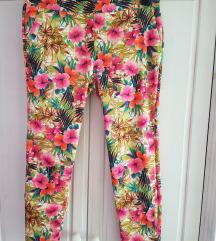 ZARA rožaste poletne hlače