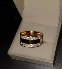 Masivni prstan iz jekla , vel. 59