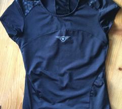 Črna športna majica S-M