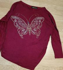 Majica z metuljem