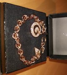 GUESS rose gold zapestnica