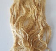 Clip on podaljški - blond