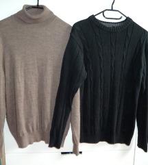 2x moški pulover, vel. M/L