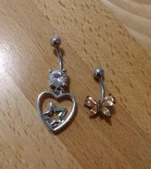 2x piercing za popek =3€ za komplet