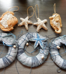 DOM - dekoracija ■morska DEKORACIJA ■komplet