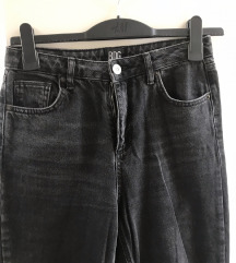 urban outfitters črne mom jeans W27 L34