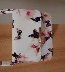 Manjša torbica z metuljčki