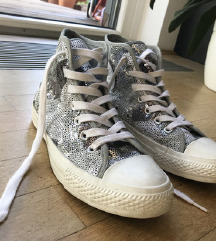 All Star Silver Sequin 37,5