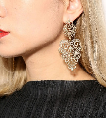 Novi zlati viseči uhani