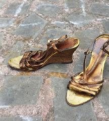 Max Mara MARELLA št. 36 sandali s polno peto
