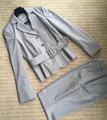 Mura kostim - svila in volna