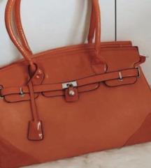 Jesenka oranžna torbica