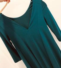 Kraljevsko zelena obleka