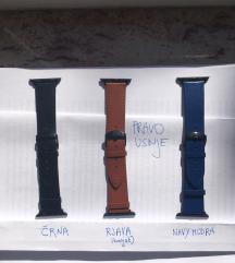 Usnjen pasek za Apple watch uro 42mm/44mm