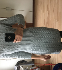 Pulover oblekca S/M oprijeta,siva NOVA