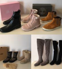Overknee škornji, gležnarji & UGG