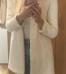 Bel prehodni suknjič