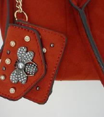 rdeča torba, torbica