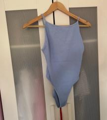 Zara body v baby blue barvi