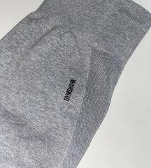 GYMSHARK Flex Cycling Short - Light Grey Marl