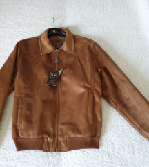 Moška semiš jakna