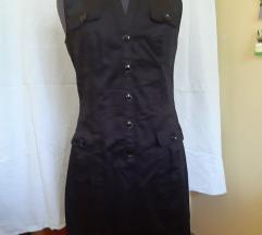 Črna poletna obleka
