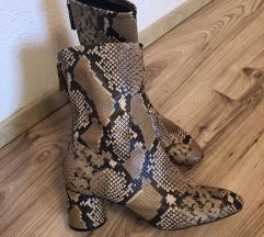 Snakeskin gležnarji Zara