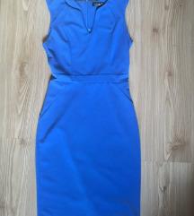 Kraljevsko modra obleka