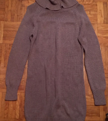 Daljši pulover/obleka M