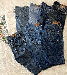 Tommy Hilfiger, Pepe jeans, Levi's hlače