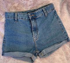 High waist kratle hlače