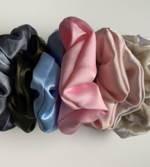 Homemade scrunchies