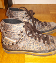 DIZEL čevlji z leopardjim vzorcem