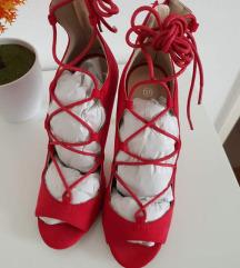 Novi lace up sandali