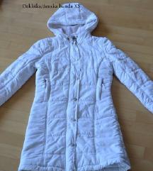 Bel zimski plašč xs