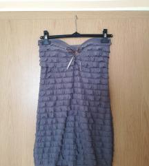 Krajša oprijeta obleka