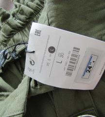 paperbag NOVE hlače s pasom  (-za M/L)