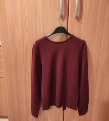 H&M bordo pulover