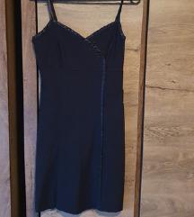 Elegantna črna oblekca clockhouse