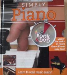 PIANO - knjiga + DVD