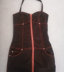 Obleka (rdeče-črna)