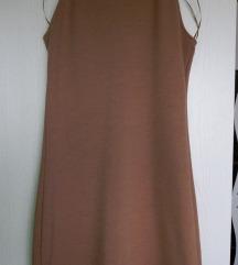 Modna rjava obleka Stradivarius, AKCIJA 12€