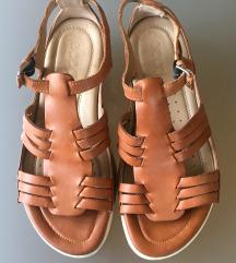 usnjeni sandali Ecco